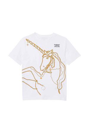 T-shirt bianca Burberry kids teen BURBERRY KIDS | 8 | 8022418A1464T