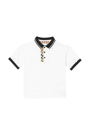 White polo shirt Burberry kids  BURBERRY KIDS | 2 | 8022621A1464