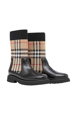 Black boots Burberry kids  BURBERRY KIDS | 12 | 8023815A7026