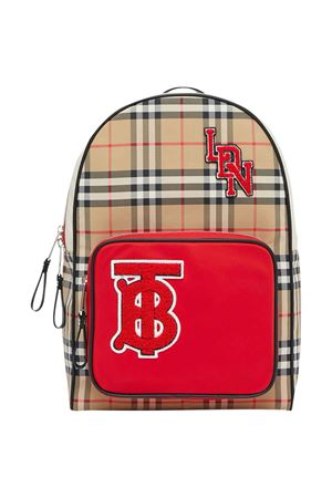 Vintage check backpack Burberry kids  BURBERRY KIDS | 279895521 | 8023908A7026