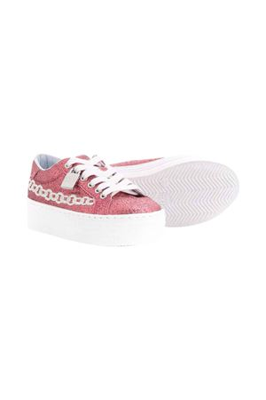 Chiara Ferragni kids pink sneakers CHIARA FERRAGNI KIDS | 12 | CFB041011FUXIAGLITTER