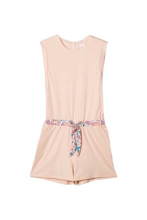Pink teen sleeveless jumpsuit Chloè kids CHLOÉ KIDS | 19 | C1462544BT