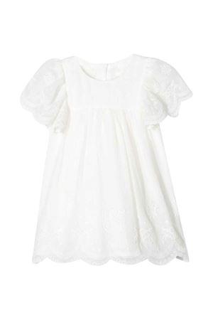 Vestito bianco con ricamo Chloé kids CHLOÉ KIDS   11   C92480117