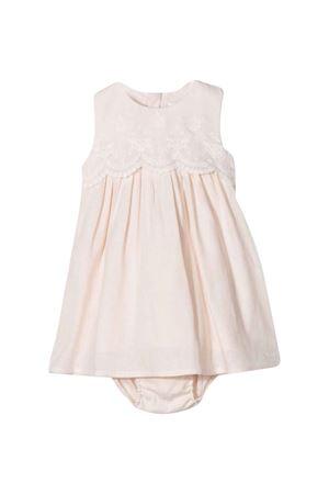 Pink baby dress with embroidery Chloé kids CHLOÉ KIDS | 11 | C9K188440