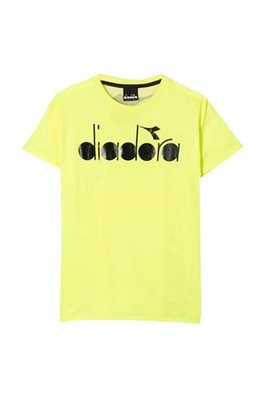 T-shirt giallo fluo Diadora junior teen DIADORA JUNIOR | 8 | 022278023T
