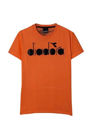 T-shirt arancio teen Diadora junior DIADORA JUNIOR | 8 | 022278176T