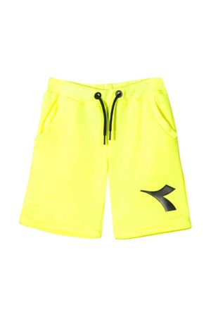 Neon yellow bermuda Diadora junior teen  DIADORA JUNIOR | 30 | 022279023T