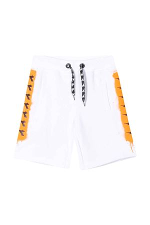 White shorts with orange side band Diadora junior DIADORA JUNIOR | 30 | 022299001
