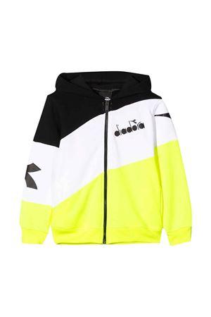 Multicolor teen hoodie with frontal logo Diadora junior DIADORA JUNIOR | -108764232 | 022301023T