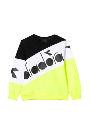 Yellow, white and black teen sweatshirt Diadora Junior DIADORA JUNIOR | -108764232 | 022302023T
