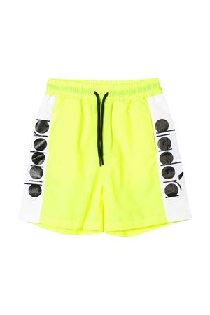 Shorts giallo teen con coulisse Diadora junior DIADORA JUNIOR | 30 | 022306023T