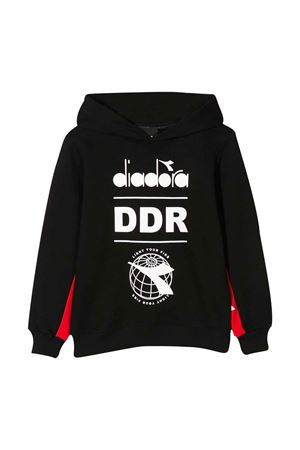 Black hoodie with logo Diadora junior DIADORA JUNIOR | -108764232 | 022333110