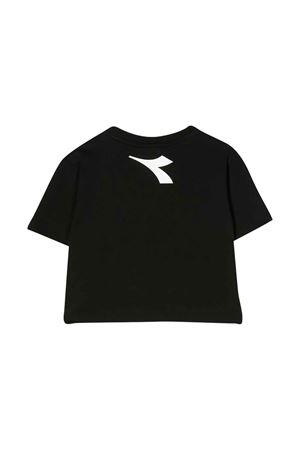 Black cropped t-shirt Diadora junior DIADORA JUNIOR | 8 | 022784110