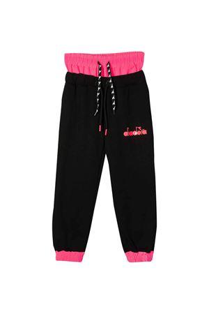 Black jogging pants diadora Kids teen DIADORA JUNIOR | 9 | 022838110T