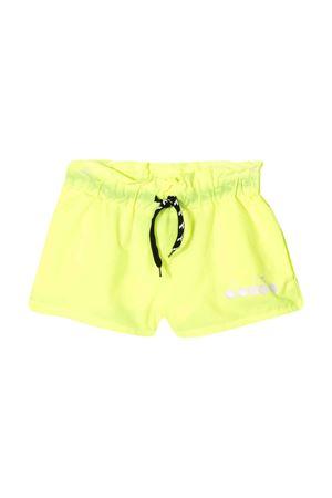 Shorts giallo fluo Diadora junior teen DIADORA JUNIOR | 30 | 022839023T