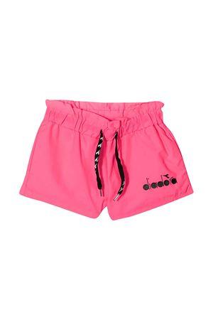 Shorts fucsia fluo Diadora junior teen DIADORA JUNIOR | 30 | 022839134T