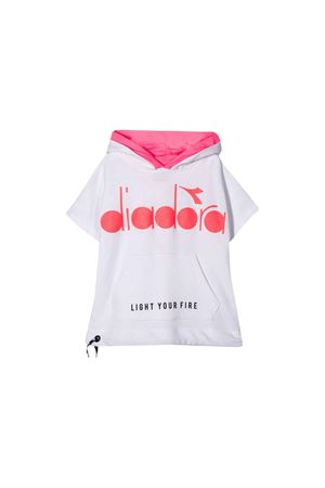 Diadora junior white sweatshirt DIADORA JUNIOR | 649347658 | 022841001