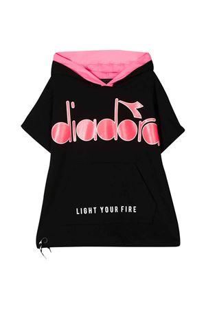 Diadora junior black sweatshirt  DIADORA JUNIOR | 649347658 | 022841110