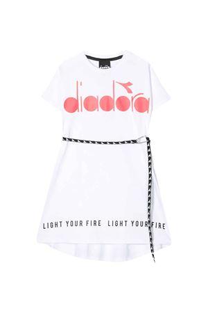 White dress with frontal logo Diadora junior DIADORA JUNIOR | 11 | 022842001