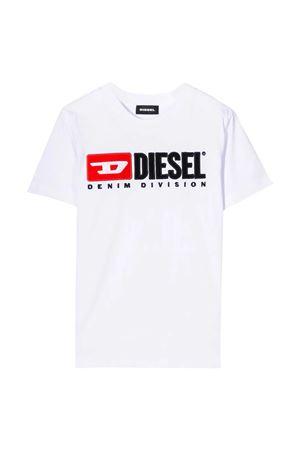 T-shirt bianca Diesel kids teen DIESEL KIDS | 8 | 00J47V00YI9K100T