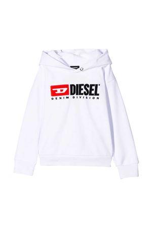 Felpa bianca Diesel kids DIESEL KIDS | -108764232 | 00J48G0IAJHK100