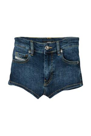Blue shorts Diesel kids teen  DIESEL KIDS | 30 | 00J4BEKXB4JK01T