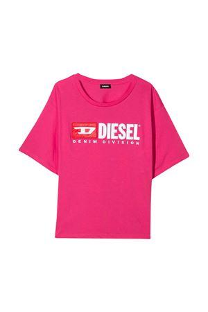 Fuchsia t-shirt Diesel kids  DIESEL KIDS | 8 | 00J4IG00YI9K30E