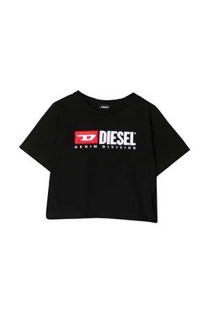 Black t-shirt Diesel kids  DIESEL KIDS | 8 | 00J4IG00YI9K900
