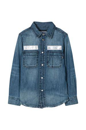 Camicia blu Diesel kids DIESEL KIDS | 5032334 | 00J4QPKXB34K01