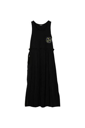 Black teen long dress with back patches Diesel kids DIESEL KIDS | 11 | 00J4TXKXB21K900T
