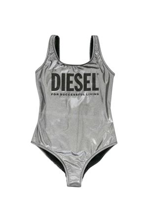 Silver one-piece swimsuit Diesel kids  DIESEL KIDS | 85 | 00J4U5KYAQEK90A