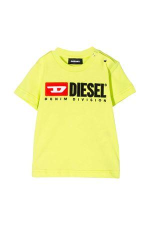 Yellow fluo T-shirt Diesel kids  DIESEL KIDS | 8 | 00K1YW00YI9K264