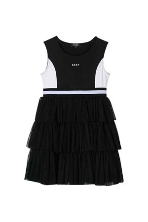 Black dress with logo DKNY kids DKNY KIDS | 11 | D3273509B