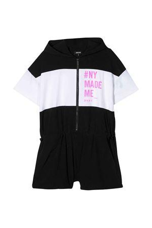 Tuta corta con stampa DKNY kids DKNY KIDS | 19 | D3498209B