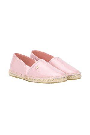 Pink teen espadrillas with logo Dolce&Gabbana kids Dolce & Gabbana kids   12   D00106A106780400T