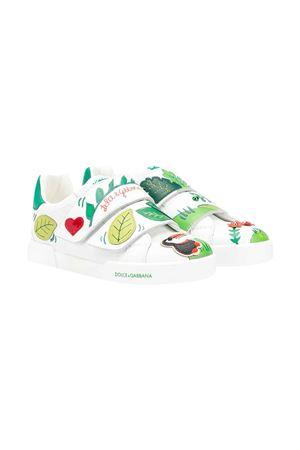 Sneakers bianche teen Dolce & Gabbana kids Dolce & Gabbana kids | 12 | D10787AX96280995T