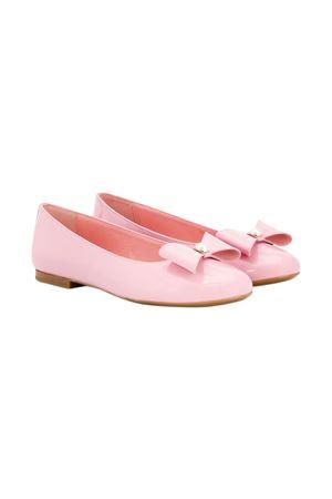 Ballerine teen rosa con fiocco Dolce&Gabbana kids Dolce & Gabbana kids | -216251476 | D10866A132880416T