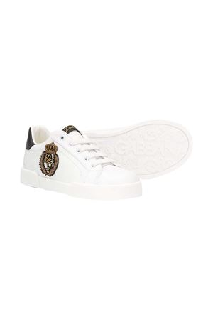 White sneakers with