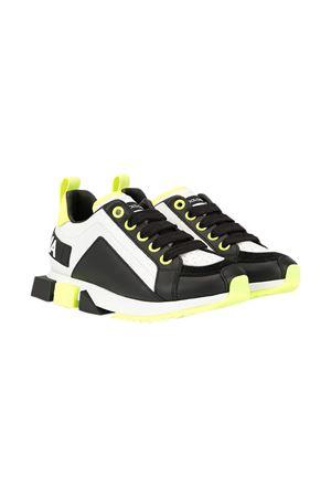 Black-white sneakers Dolce&Gabbana kids  Dolce & Gabbana kids | 12 | DA0711AX0778R154