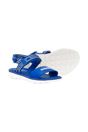 Sandali blu con logo bianco Dolce&Gabbana kids Dolce & Gabbana kids | 12 | DA0789AX1838D600