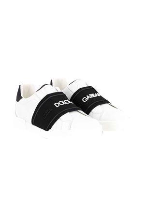 Sneakers bianchi senza lacci Dolce & Gabbana kids Dolce & Gabbana kids | 12 | DA0793AF5128B926