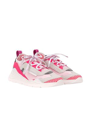 White and fuchsia teen shoes Dolce & Gabbana kids Dolce & Gabbana kids | 12 | DA0904AX0368B001T