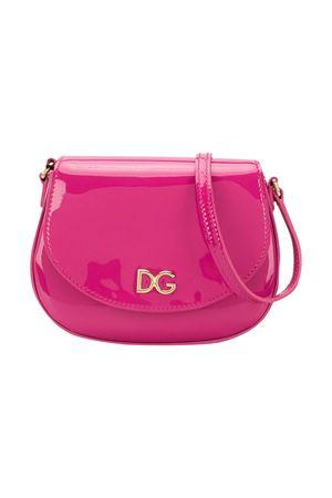 Fucsia shoulder bag with frontal logo Dolce&Gabbana kids Dolce & Gabbana kids | 31 | EB0212A147180411