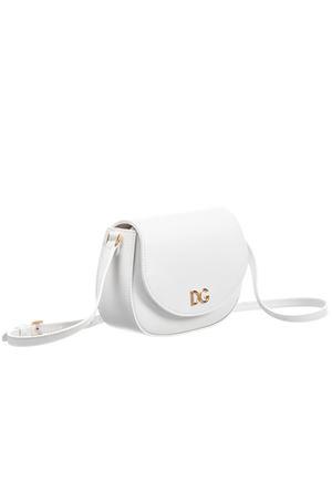 White leather handbag with golden details Dolce&Gabbana kids Dolce & Gabbana kids | 31 | EB0212AJ64780001