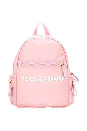 Pink backpack Dolce & Gabbana kids  Dolce & Gabbana kids | 279895521 | EB0220A94168B405