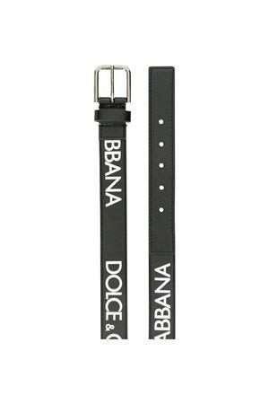 Cintura nera con logo bianco Dolce&Gabbana kids Dolce & Gabbana kids | 22 | EC0055AN6648M933