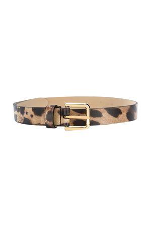 Leopard printed belt Dolce & Gabbana kids Dolce & Gabbana kids | 22 | EE0059A6G09HY13M