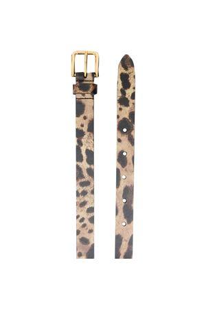 Cintura leopardata Dolce & Gabbana kids Dolce & Gabbana kids | 22 | EE0059A6G09HY13M