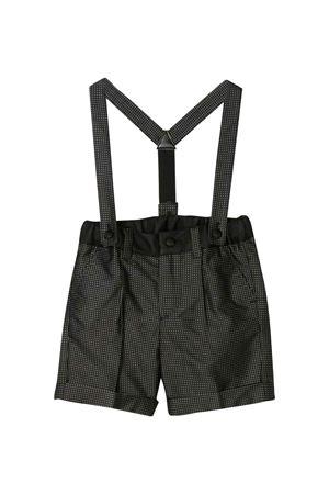 Shorts neri jacquard con vita elasticizzata Dolce & Gabbana kids Dolce & Gabbana kids | 30 | L12Q67FJ1HHS8350