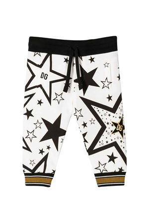 Sport trousers with stars press Dolce & Gabbana kids Dolce & Gabbana kids | 9 | L1JPWJG7VBOHA66B